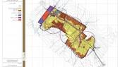 طرح جامع شهر خرمدشت - نقشه الگوی توسعه