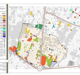 طرح گردشگری میبد - نقشه قابلیت های توسعه گردشگری منطقه نمونه