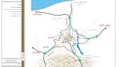 طرح بهسازی و نوسازی بافت فرسوده شهر ساری - نقشه ساختار فعالیتی شهر و پیرامون شهر ساری
