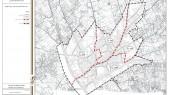 طرح جامع شهر اسفرورین - تقسیمات کالبدی پیشنهادی شهر