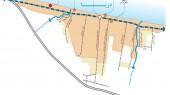 امکانسنجی و کانسپت حجمی معماری اراضی سلمانشهر - نقشه جانمایی در شهر