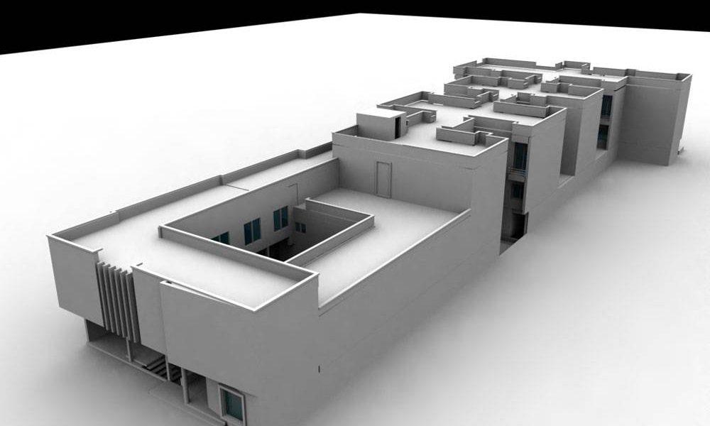 طراحی معماری هتل بم کرمان