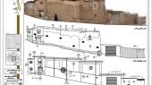 طرح بهسازی روستای حیدره دارالامام - نقشه آسیب شناسی و مرمت جداره