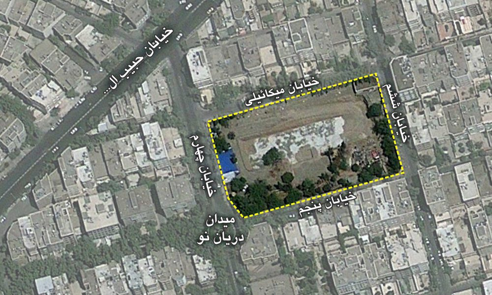توجیه اقتصادی و امکانسنجی مالی پروژه مسکونی - نقشه جانمایی