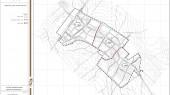 طرح جامع شهر خرمدشت - نقشه تقسیمات کالبدی شهر پیشنهادی