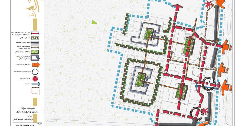 طرح بهسازی و نوسازی بافت فرسوده محله گلستان سبزوار
