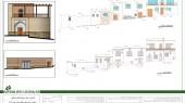 طرح بهسازی بافت با ارزش روستای انجدان - نقشه مرمت جداره ها و بدنه