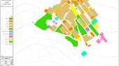 طراحی منطقه گردشگری چک چک - نقشه کاربری اراضی