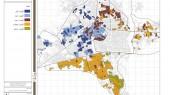 طرح بهسازی و نوسازی بافت فرسوده شهر ساری - نقشه اولویت بندی مشارکت در نوسازی بافت