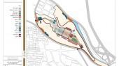 طراحی باغ موزه دفاع مقدس تبریز - نقشه طرح مفهومی