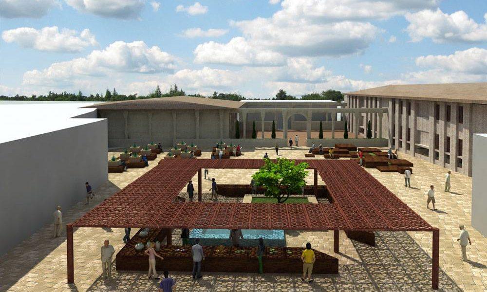 طرح بهسازی و نوسازی بافت فرسوده شهر ساری - سه بعدی طرح های پیشگام توسعه