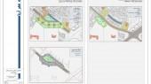 طراحی شهری اطراف بیت امام خمینی - نقشه گزینه های طراحی