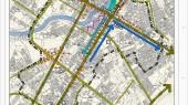 طرح بهسازی و نوسازی بافت فرسوده اسفراین - نقشه ساختار نظام ارتباطی
