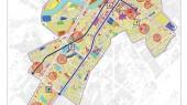 طرح بهسازی و نوسازی بافت فرسوده اسفراین - نقشه پروژه های پیشگام توسعه