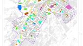 طرح بهسازی و نوسازی بافت فرسوده اسفراین - نقشه کاربری پیشنهادی طرح بهسازی