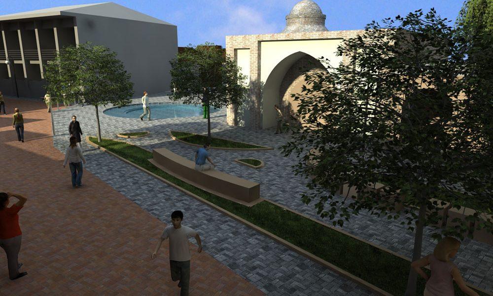 طرح بهسازی و نوسازی بافت فرسوده شهر ساری - سه بعدی طرح پیشگامم توسعه