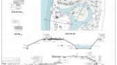طراحی محوطه باغ موزه دفاع مقدس مازندران - نقشه محوطه باغ موزه