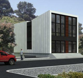 طراحی فاز یک و دو ساختمان امور اداری و تاسیسات شرکت آب و فاضلاب شرق تهران