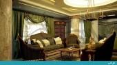 طراحی داخلی و بازسازی منزل مسکونی اقدسیه