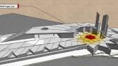 طراحی حسینیه دفاع مقدس خرمآباد - مزار شهید گمنام
