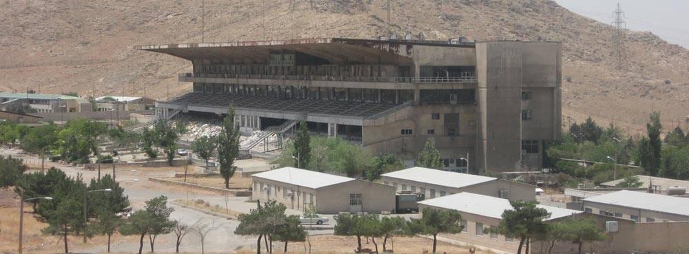 طراحی ساختمان فرهنگی – اداری دهکده مقاومت دفاع مقدس - ساختمان اولیه موجود