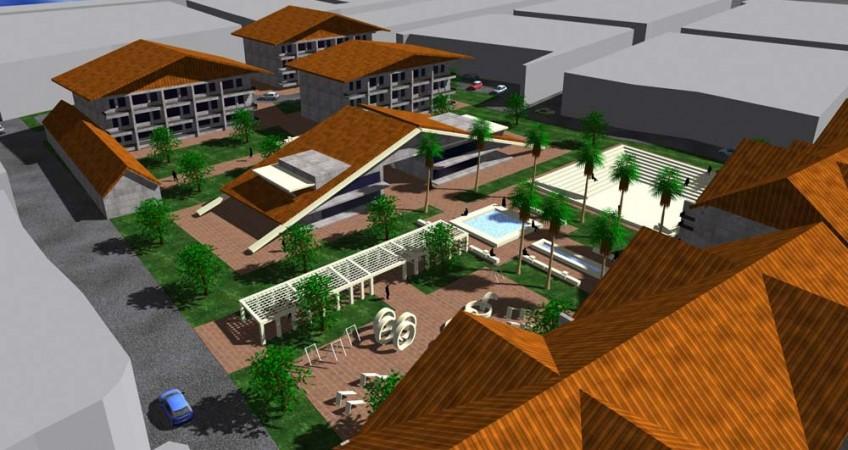 طرح بهسازی و نوسازی بافت فرسوده بابل - طرح سه بعدی طرح پیشگام توسعه