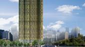 امکانسنجی هتل 5 ستاره تهران - طرح سه بعدی نمای جنوبی