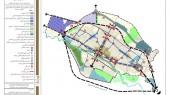 طرح جامع شهر الیگودرز - نقشه الگوی پیشنهادی توسعه
