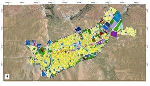 طرح جامع شهر نورآباد - نقشه کاربری اراضی پیشنهادی