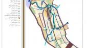 طرح جامع شهر نورآباد - نقشه الگوی پیشنهادی توسعه