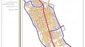طرح جامع شهر نورآباد - نقشه سلسله مراتب دسترسی پیشنهادی