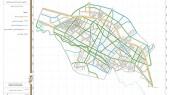 طرح جامع شهر الیگودرز - نقشه سلسله مراتب دسترسی پیشنهادی