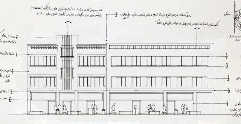 طرح بهسازی و نوسازی بافت فرسوده باقرشهر - طراحی محور خیابان و جداره نما