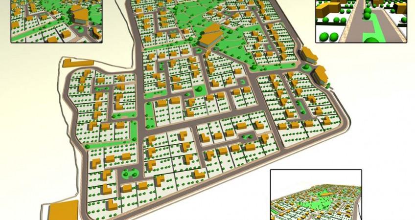 آماده سازی زمین - طرح کانسپت سه بعدی