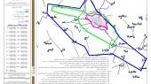 طرح جامع شهر الیگودرز - نقشه محدوده و حریم شهر