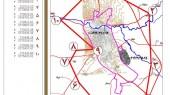 طرح جامع شهر نورآباد - محدوده و حریم شهر