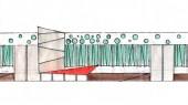 طراحی ساختمان فرهنگی – اداری دهکده مقاومت دفاع مقدس