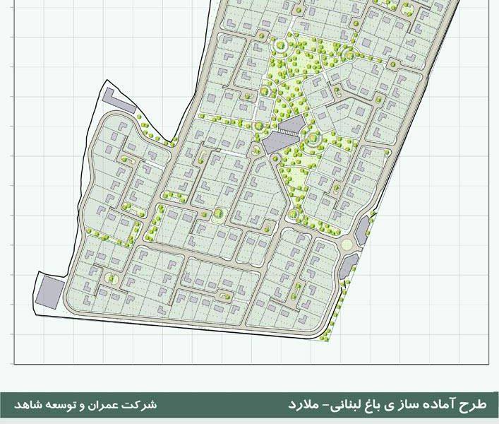 آماده سازی زمین - پلان آماده سازی
