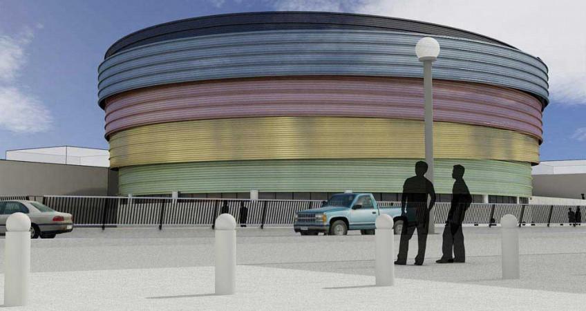 طراحی سالن ورزشی چند منظوره