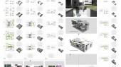 طرح برگزیده مسابقه مجتمع اداری تجاری مسکونی صفائیه یزد