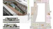 طراحی معماری پلان باغ بازار