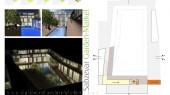طراحی معماری سه بعدی باغ بازار
