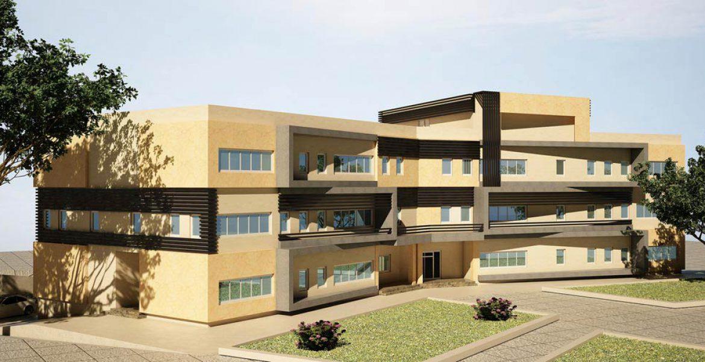 طراحی ساختمان آب و فاضلاب زرگنده - طرح سه بعدی