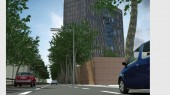 طراحی هتل 5 ستاره تهران - پرسپکتیو طرح