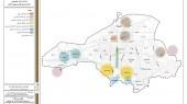 طرح بهسازی و نوسازی بافتهای ناکارآمد شهری شهر بهشهر - نقشه موقعیت محلات و محدوده های ناکارآمد
