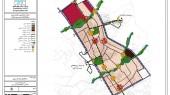 طرح ساماندهی سکونتگاههای غیررسمی و توانمند سازی اجتماعات با تاکید بر بهسازی شهری، شهر قرچک - نقشه مناطق برنامه ریزی