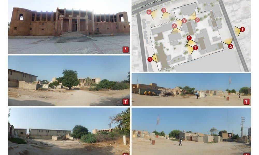 طرح امکان سنجی گردشگری عمارت ملک التجار بوشهر - دید و منظر
