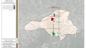 طرح بهسازی و نوسازی بافتهای ناکارآمد شهری شهر بهشهر - نقشه ستون فقرات شهر به مثابه محور هویتی - تاریخی شهر