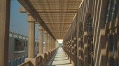 طرح امکان سنجی گردشگری عمارت ملک التجار بوشهر - طراحی سه بعدی طرح پیشنهادی