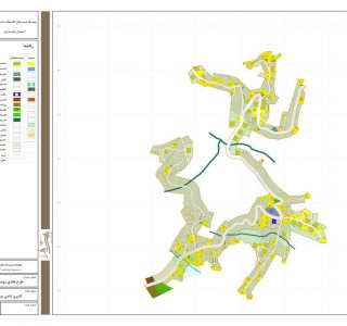 طرح هادی روستای آهک چال - کاربری اراضی پیشنهادی